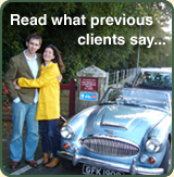 Read what previous clients say