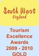 South West England - Tourism Excellence Awards 2009-2010