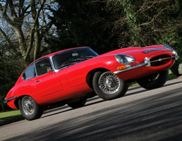 30th Birthday Gift Idea - E type Jaguars for Hire