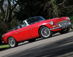 50th Birthday Gift Idea - MGC Roadster for Hire