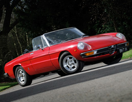40th Birthday Gift Idea - Alfa Spider for Hire