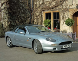 60th Birthday Gift Idea - Aston Martin DB7 for Hire