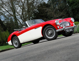 Birthday Gift Ideas - Austin Healey 3000 for Hire