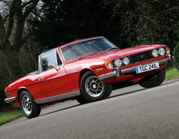 Christmas Gift Ideas - Triumph Stag for Hire